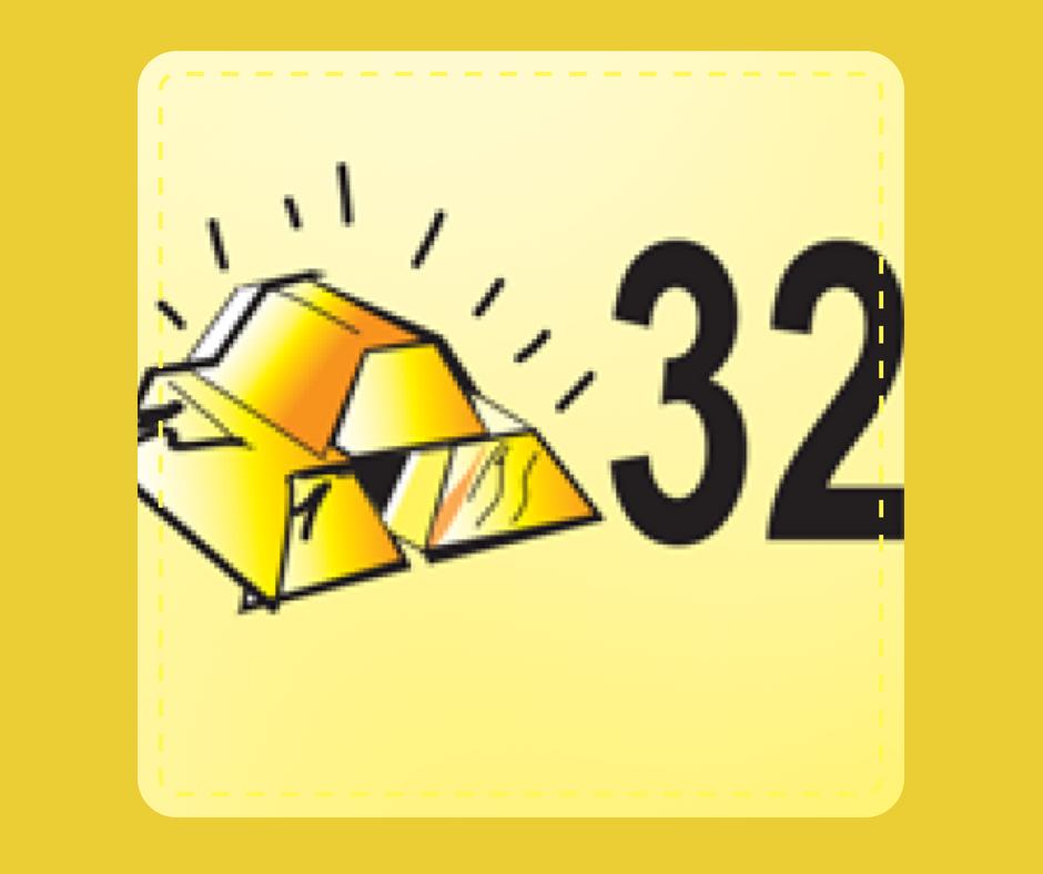 32 - Gold